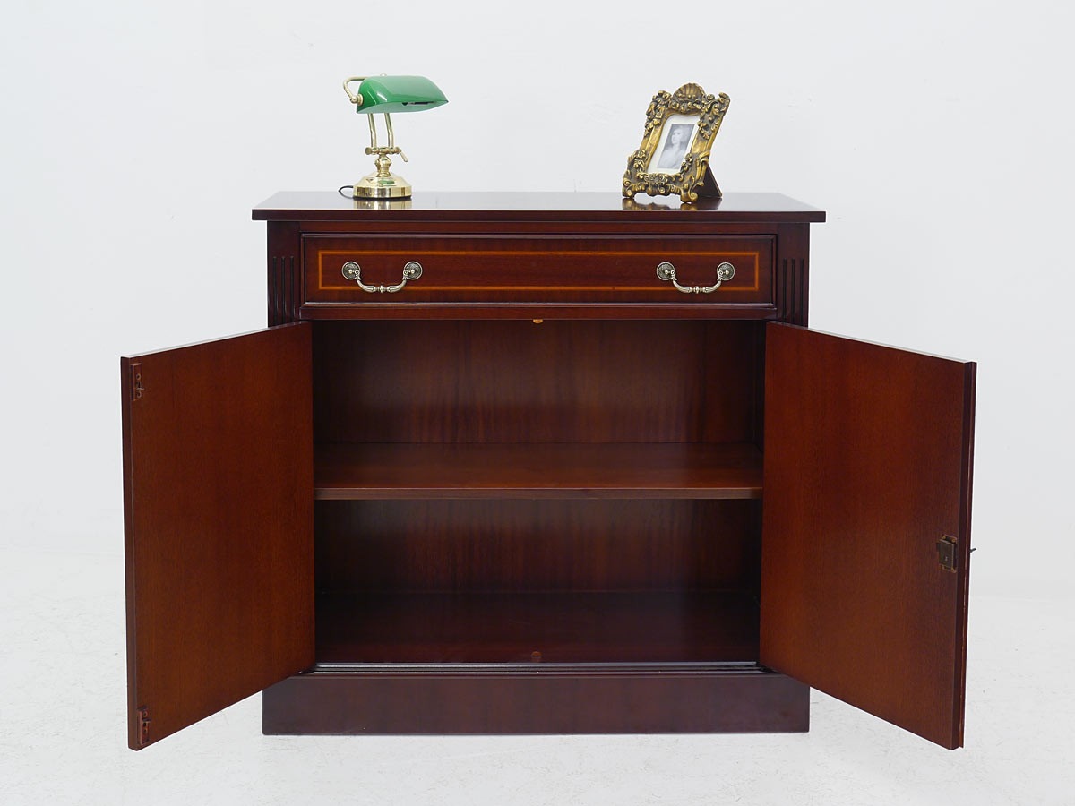 anrichte kommode sideboard mahagoni englischer stil 1085 ebay. Black Bedroom Furniture Sets. Home Design Ideas