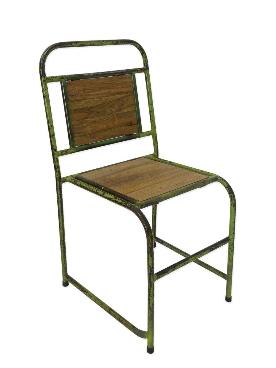 Dekorativer stuhl vintage im retro design metall sitzm bel st hle - Stuhle retro design ...