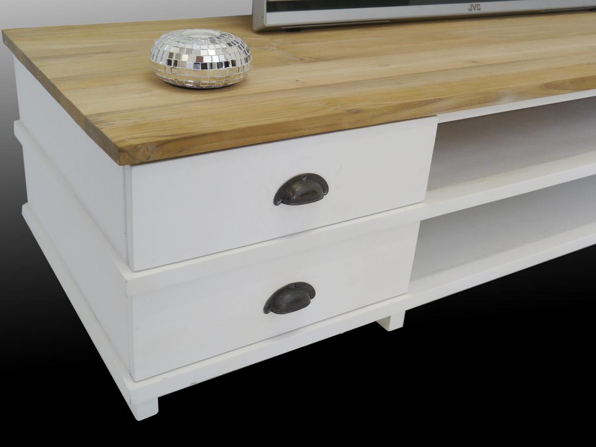 lowboard tv board massivholz wei natur kommoden und anrichten tv schr nkchen. Black Bedroom Furniture Sets. Home Design Ideas