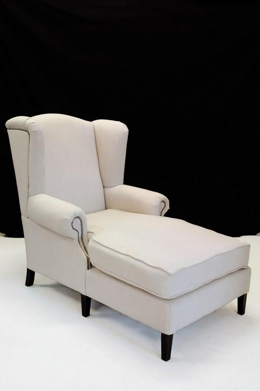 ohren liegesessel mit textilbezug im modernen design sitzm bel sofas und sessel. Black Bedroom Furniture Sets. Home Design Ideas