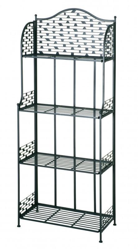 regal etagere metall temper anthrazit ebay. Black Bedroom Furniture Sets. Home Design Ideas