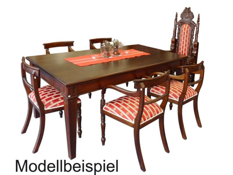 esstisch im antiken stil f r 8 personen aus mahagoni tische esstische. Black Bedroom Furniture Sets. Home Design Ideas