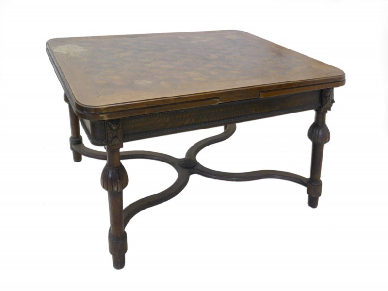 Esstisch ausziehbar antik  Esstisch Tisch Esszimmertisch Antik Günderzeit um 1880 Eiche ...