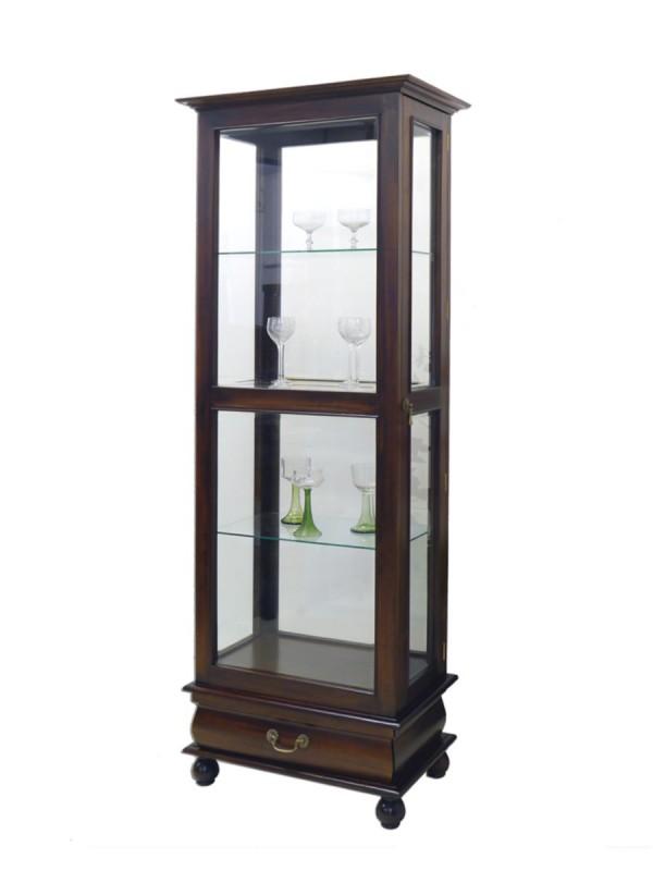 glasvitrine mahagoni bestseller shop f r m bel und einrichtungen. Black Bedroom Furniture Sets. Home Design Ideas