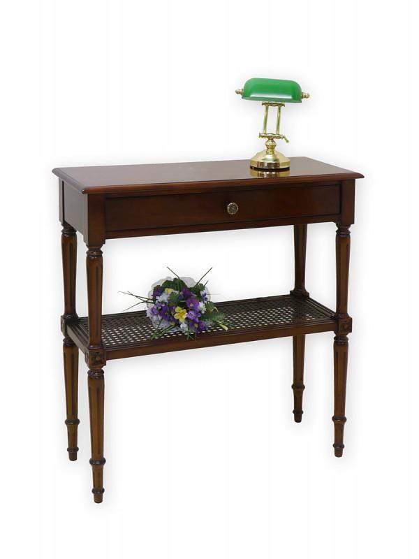 stilvoller wandtisch im englischen stil in mahagoni tische wandtische. Black Bedroom Furniture Sets. Home Design Ideas
