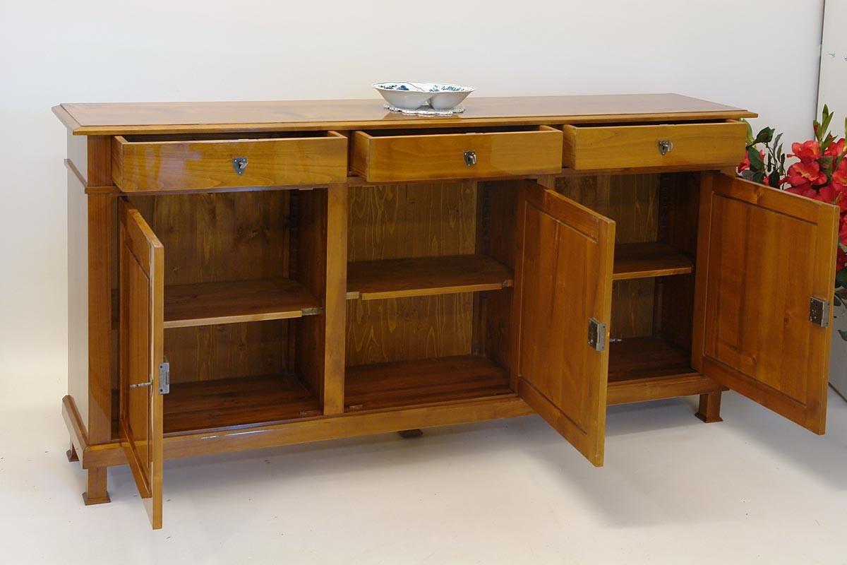sideboard dreit rig im biedermeier stil kommoden und anrichten sideboards anrichten. Black Bedroom Furniture Sets. Home Design Ideas