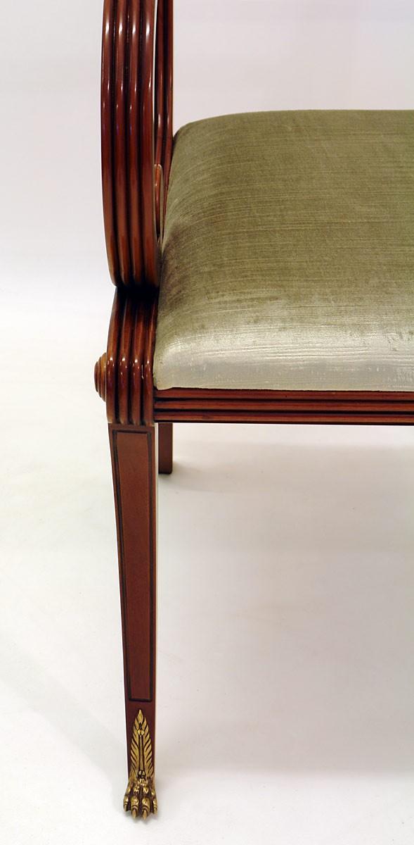 stuhl mit armlehne aus mahagoni im englischen stil sitzm bel st hle. Black Bedroom Furniture Sets. Home Design Ideas