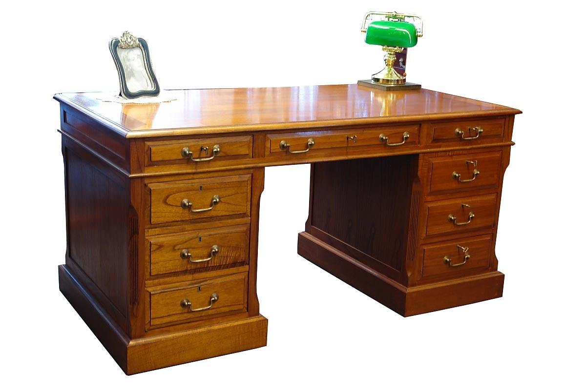 Schreibtisch computertisch mahagoni globe wernicke wie for Schreibtisch antik