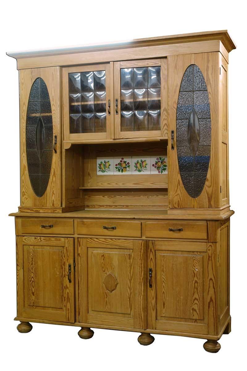 buffet schrank k chenschrank weichholz um 1900 1489 ebay. Black Bedroom Furniture Sets. Home Design Ideas