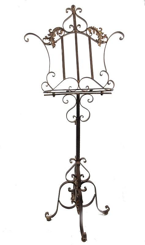 notenst nder aus eisen antik stil h henverstellbar dekoration und sonstiges musikinstrumente. Black Bedroom Furniture Sets. Home Design Ideas