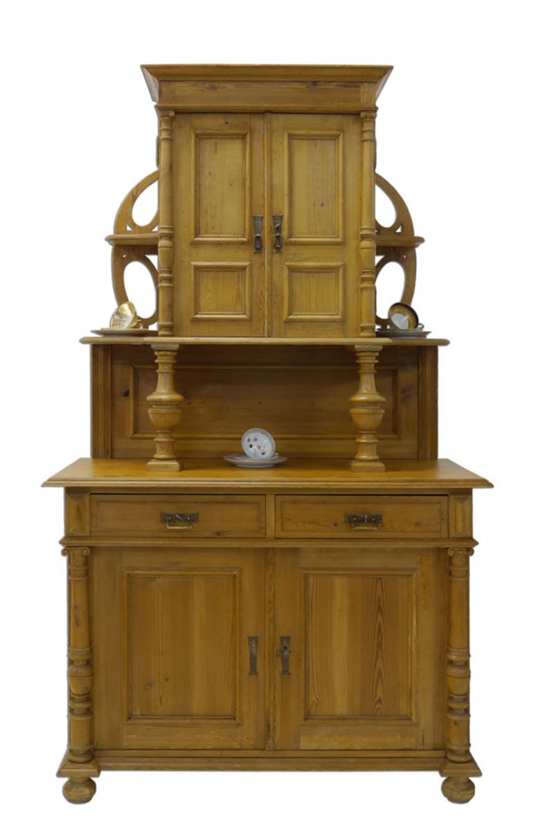 buffet schrank buffetschrank gr nderzeit um 1880. Black Bedroom Furniture Sets. Home Design Ideas