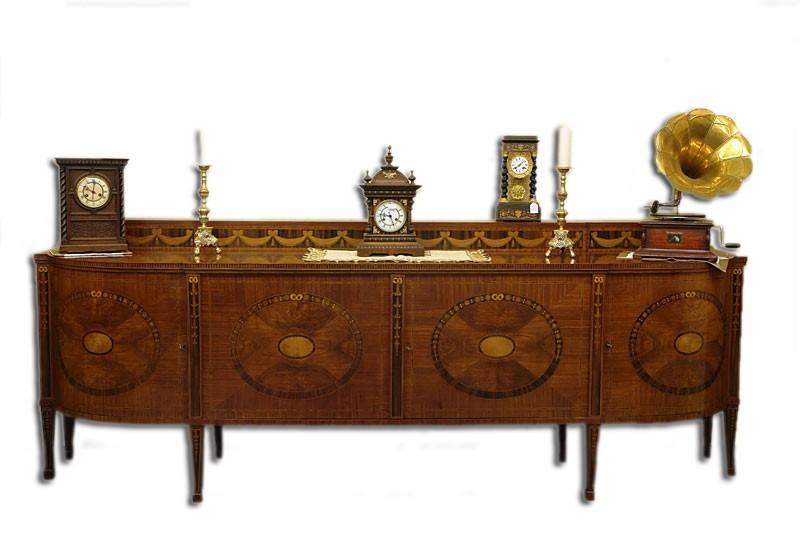 sideboard anrichte schrank antik um 1900 palisander verschiedene h lzer 2089 ebay. Black Bedroom Furniture Sets. Home Design Ideas
