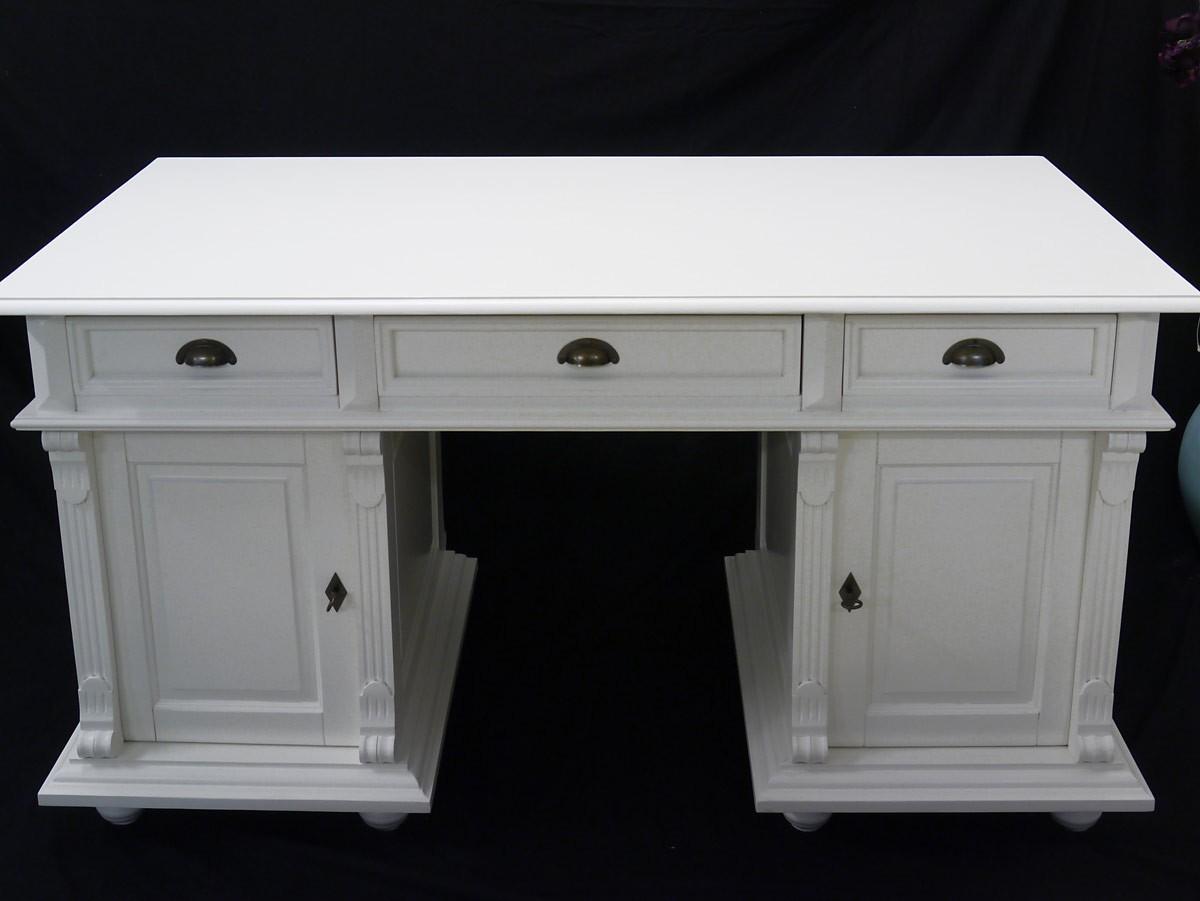 schreibtisch b rom bel computertisch aus massivholz in. Black Bedroom Furniture Sets. Home Design Ideas