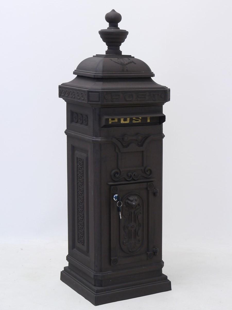briefkasten aluguss metallteile verbinden. Black Bedroom Furniture Sets. Home Design Ideas
