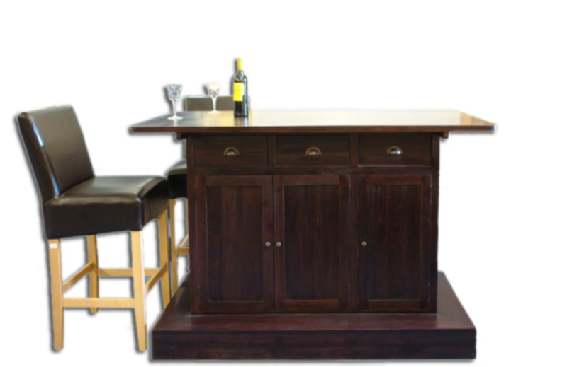 bar theke tresen teakholz massiv modernes design mediterran 2325 ebay. Black Bedroom Furniture Sets. Home Design Ideas