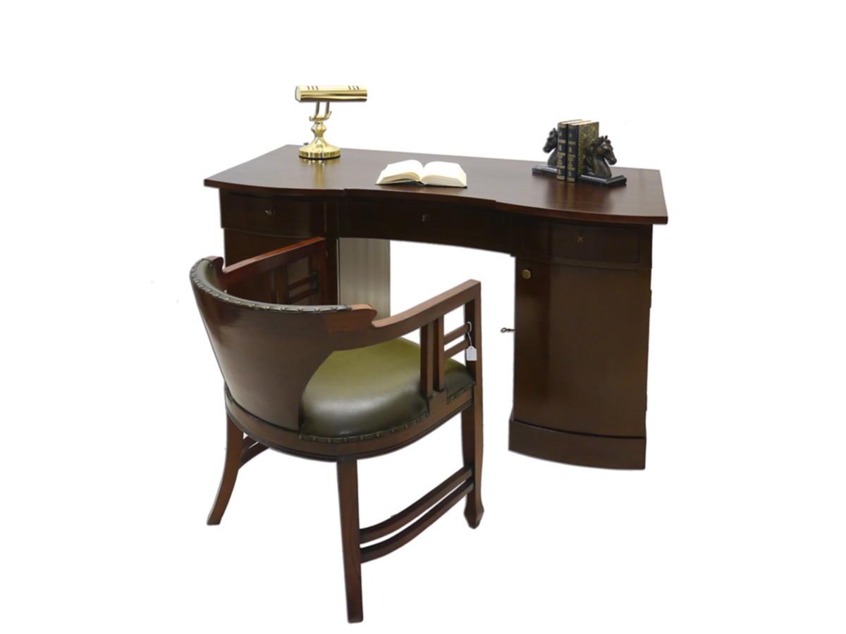 Schreibtisch Büromöbel Schreibmöbel Antik Art Deco um 1930 (2329) | eBay