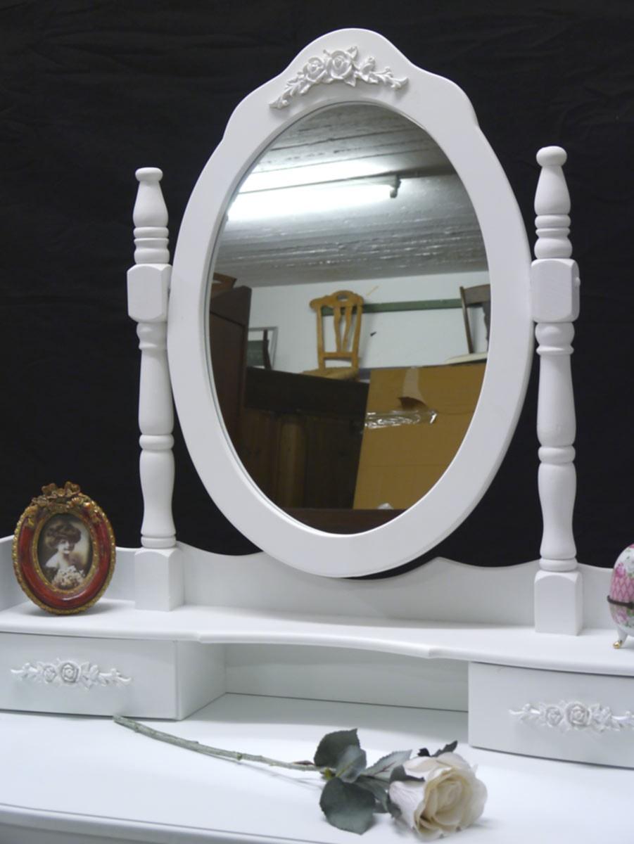schminktisch frisiertisch frisierkommode mit hocker im. Black Bedroom Furniture Sets. Home Design Ideas