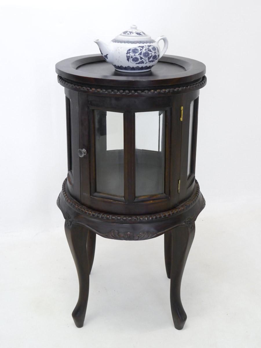 teeschrank barschrank vitrine louis philippe stil. Black Bedroom Furniture Sets. Home Design Ideas