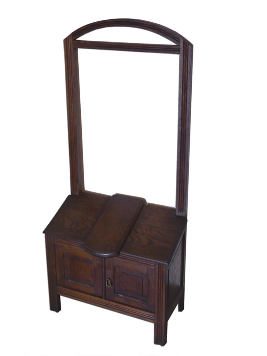 stummer diener garderobe herrendiener antik um 1920 eiche. Black Bedroom Furniture Sets. Home Design Ideas