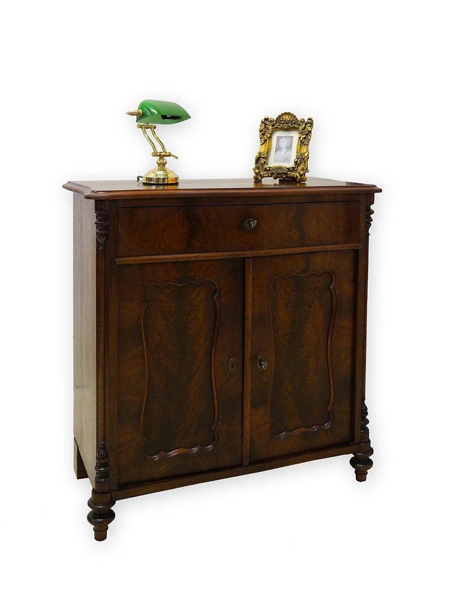 Kommode Mahagoni Gebraucht : ... Sideboard Kommode Antik Spätbiedermeie r um 1840 Mahagoni (2661