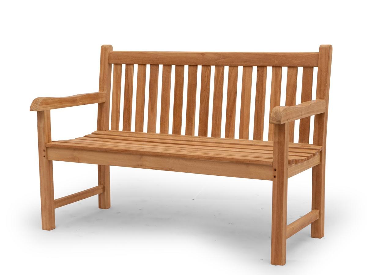 gartenbank sitzbank gartenm bel 3 sitzer aus massivem teak. Black Bedroom Furniture Sets. Home Design Ideas