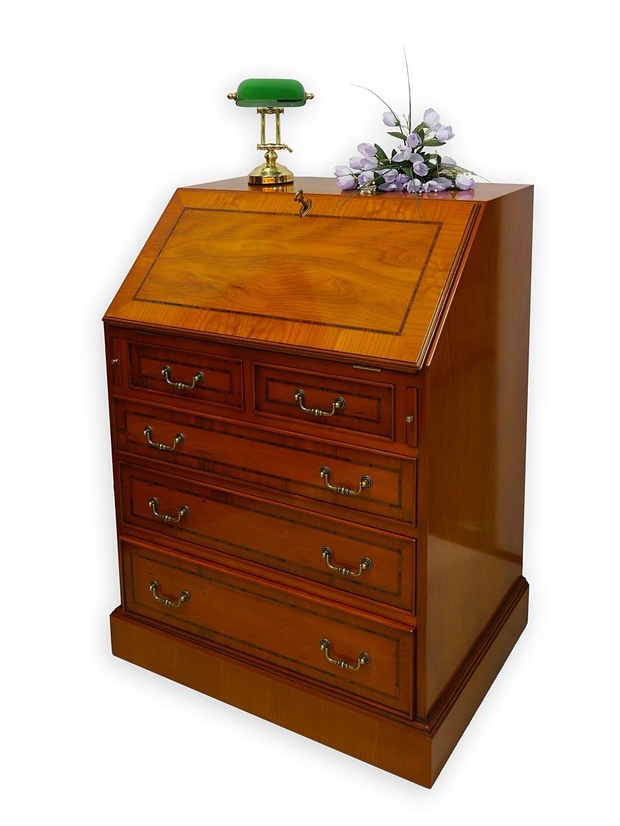 sekret r schreibm bel schreibschrank englischer stil eibe. Black Bedroom Furniture Sets. Home Design Ideas