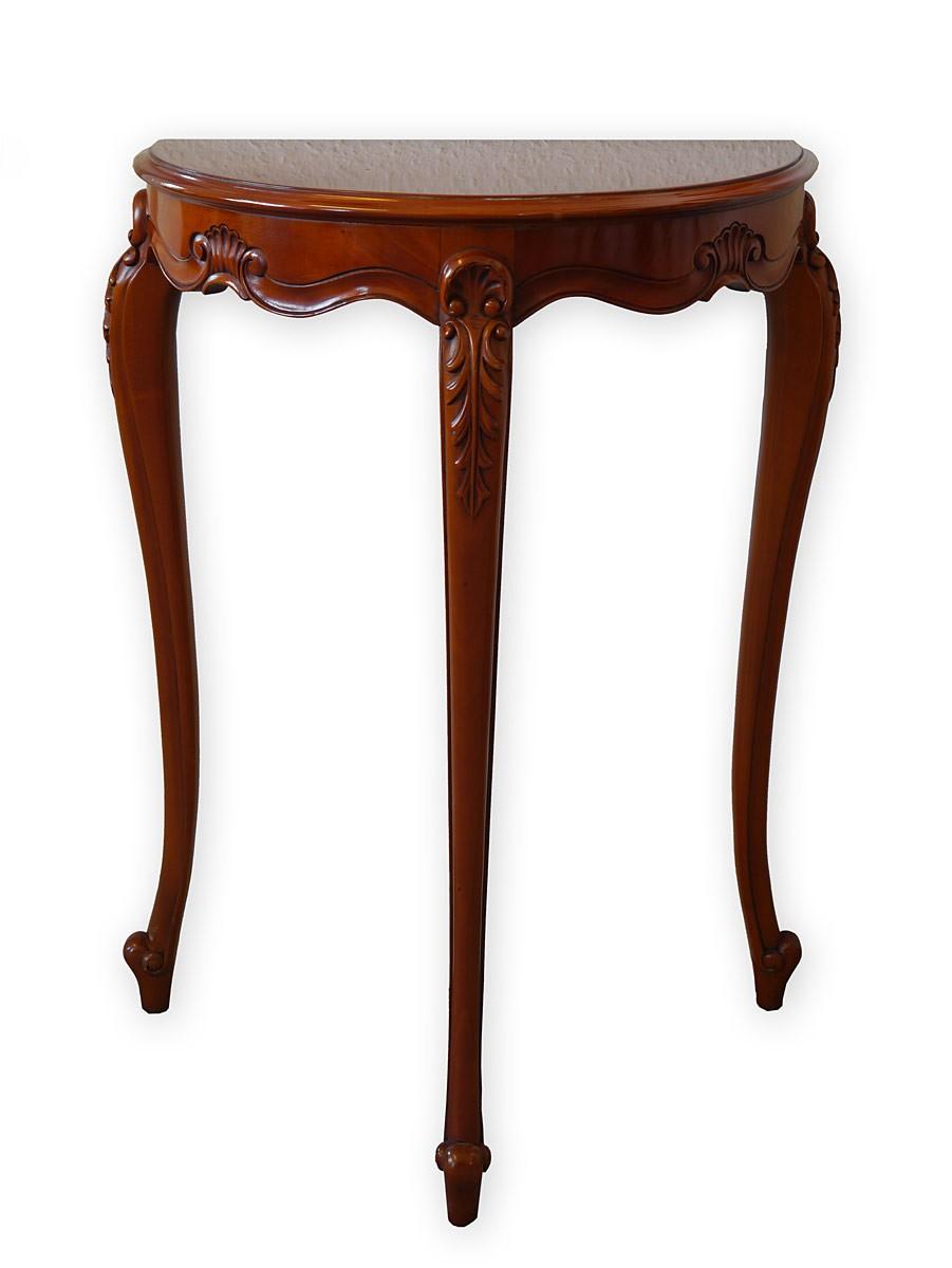 hochwertiger wandtisch im antiken stil mahagoni tische wandtische. Black Bedroom Furniture Sets. Home Design Ideas