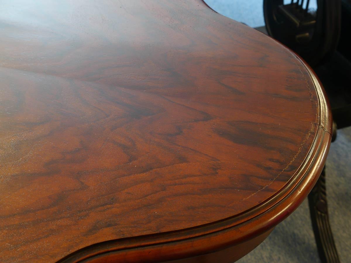 Wohnzimmertisch salontisch tisch gr nderzeit um 1880 for Ovaler wohnzimmertisch