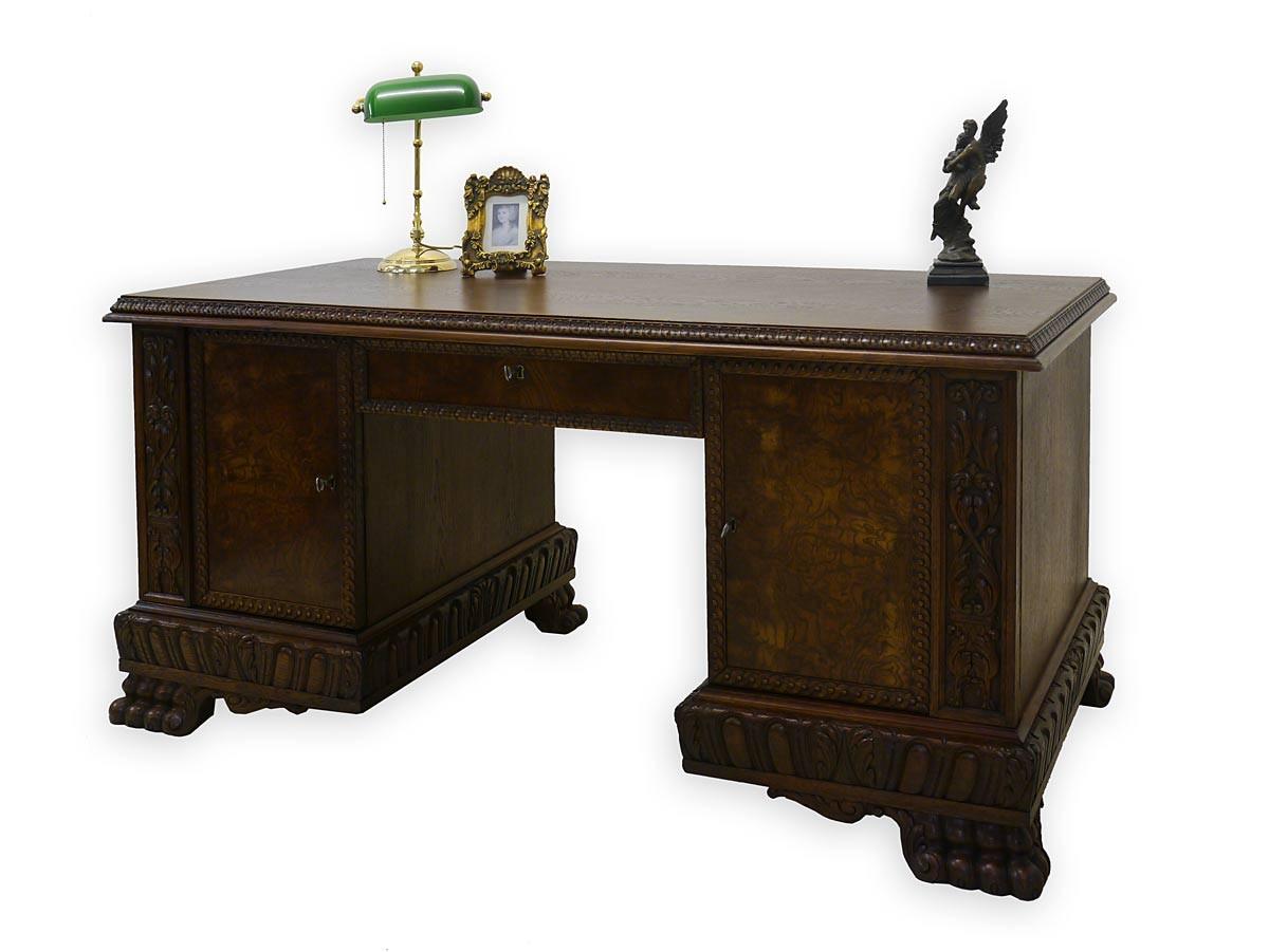 Schreibtisch Schreibmöbel Büromöbel Neo Barock um 1920 (2836) | eBay