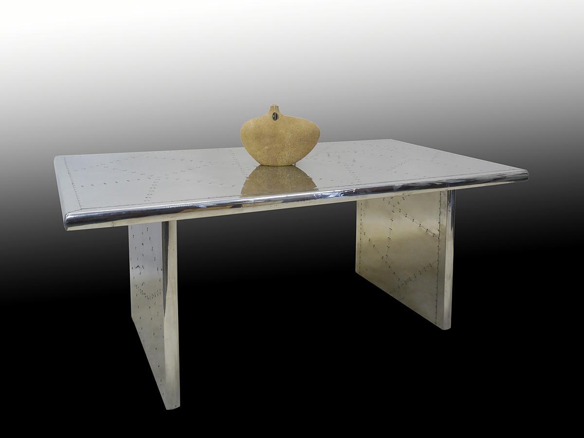 Designer esstisch aircrafttable 160 x 100 cm tische for Designer esstisch 160