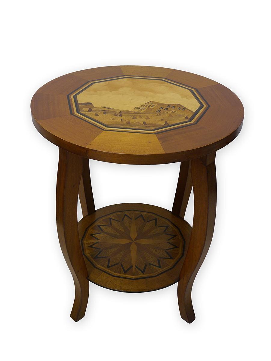 Beistelltisch antik  beistelltisch antik rund – Com.ForAfrica