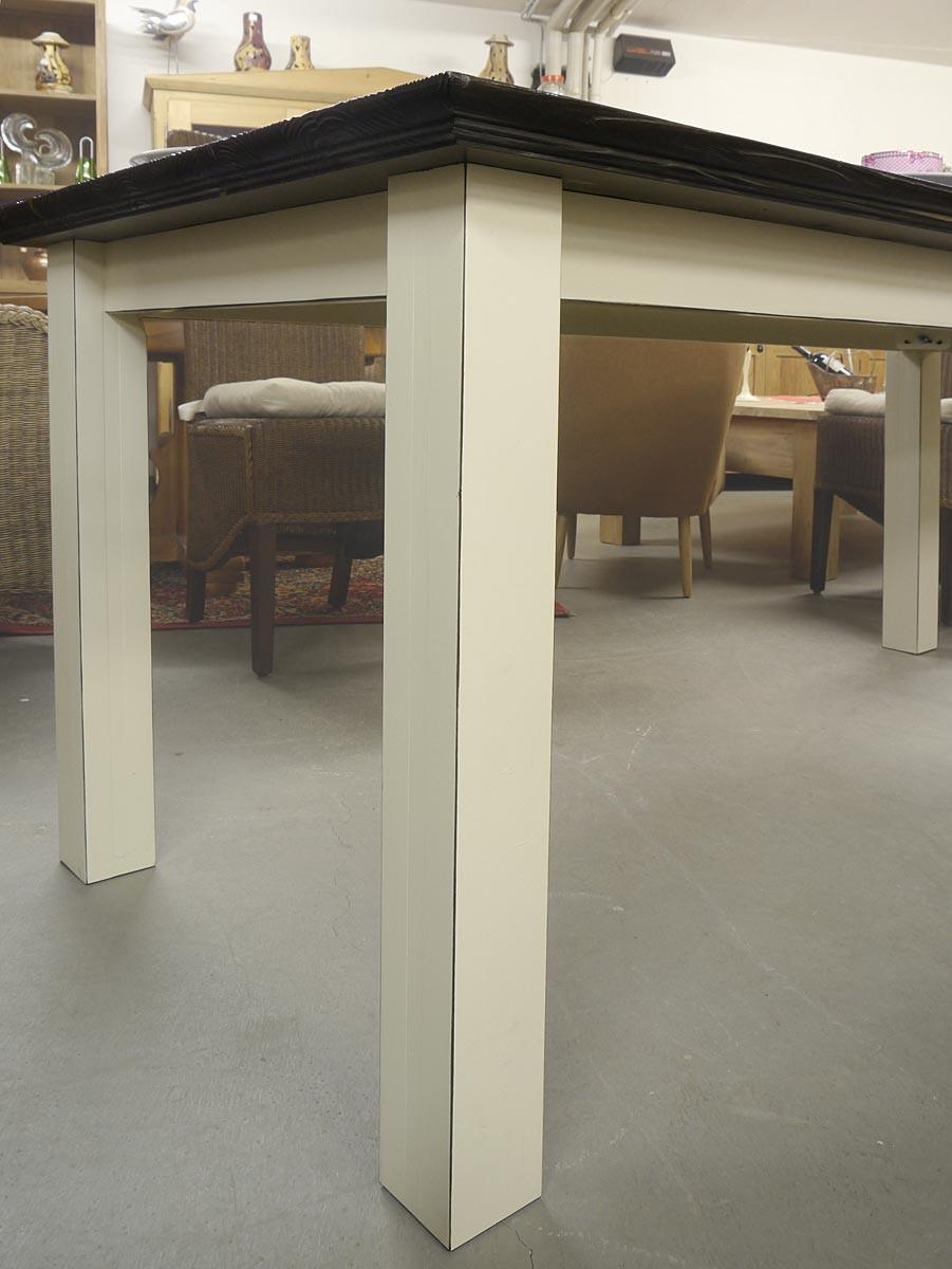tisch esstisch gesellschaftstisch landhausstil f r 8. Black Bedroom Furniture Sets. Home Design Ideas