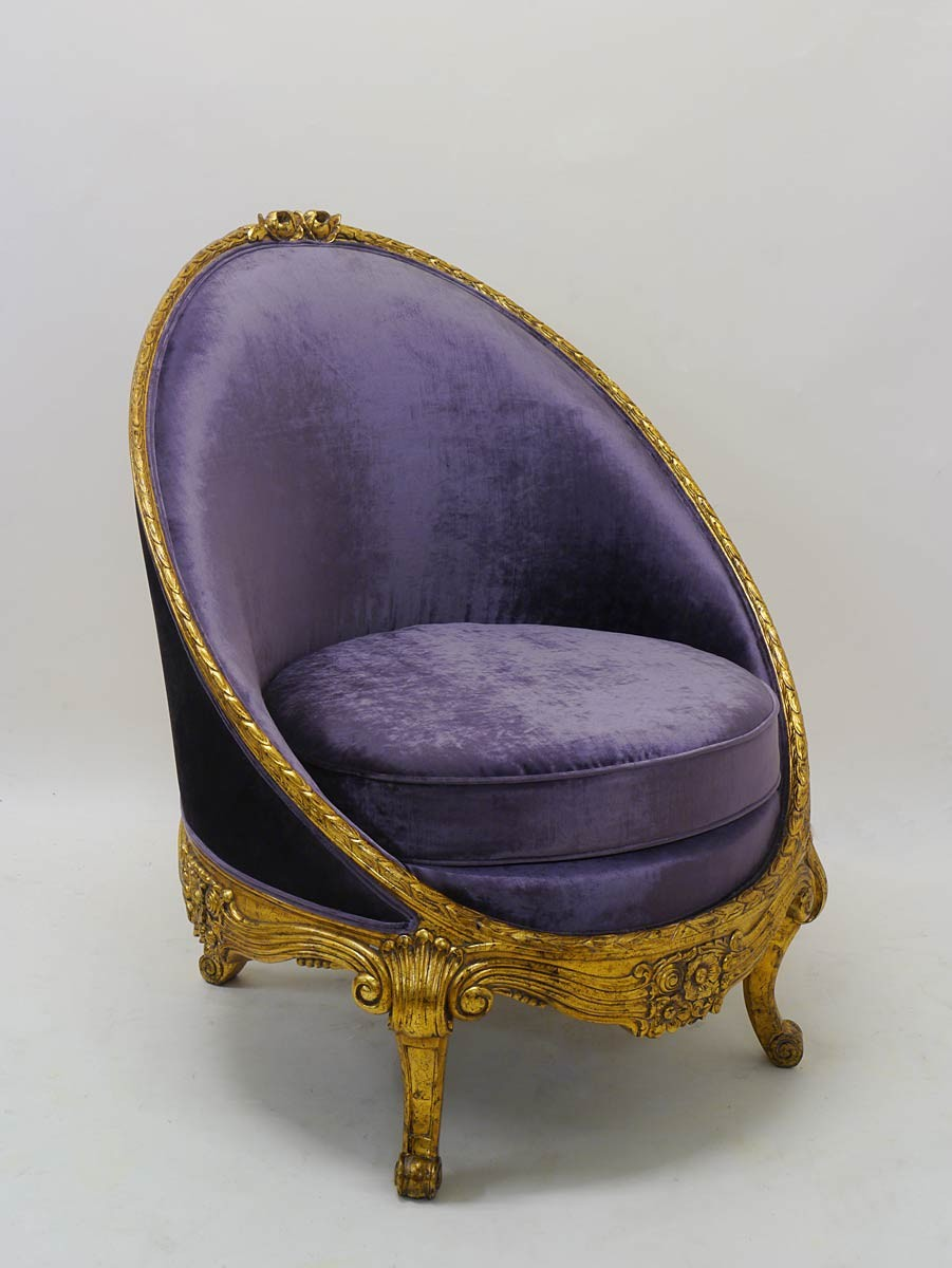 hochwertige sitzgruppe 2 sessel 1 tisch goldfarben im barock stil sitzm bel sofas und sessel. Black Bedroom Furniture Sets. Home Design Ideas