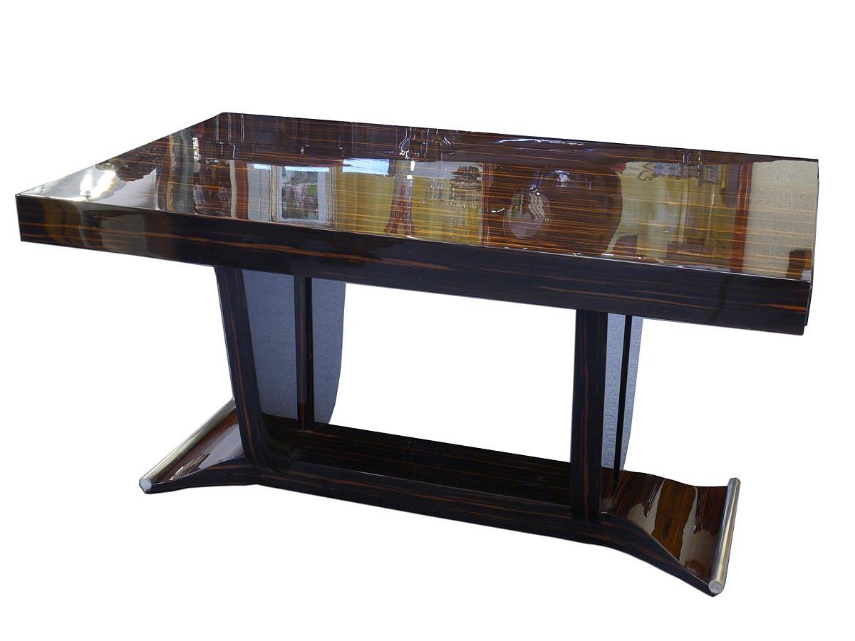 tisch esstisch art deco um 1925 franz sisches art d co ausziehbar 2981 ebay. Black Bedroom Furniture Sets. Home Design Ideas