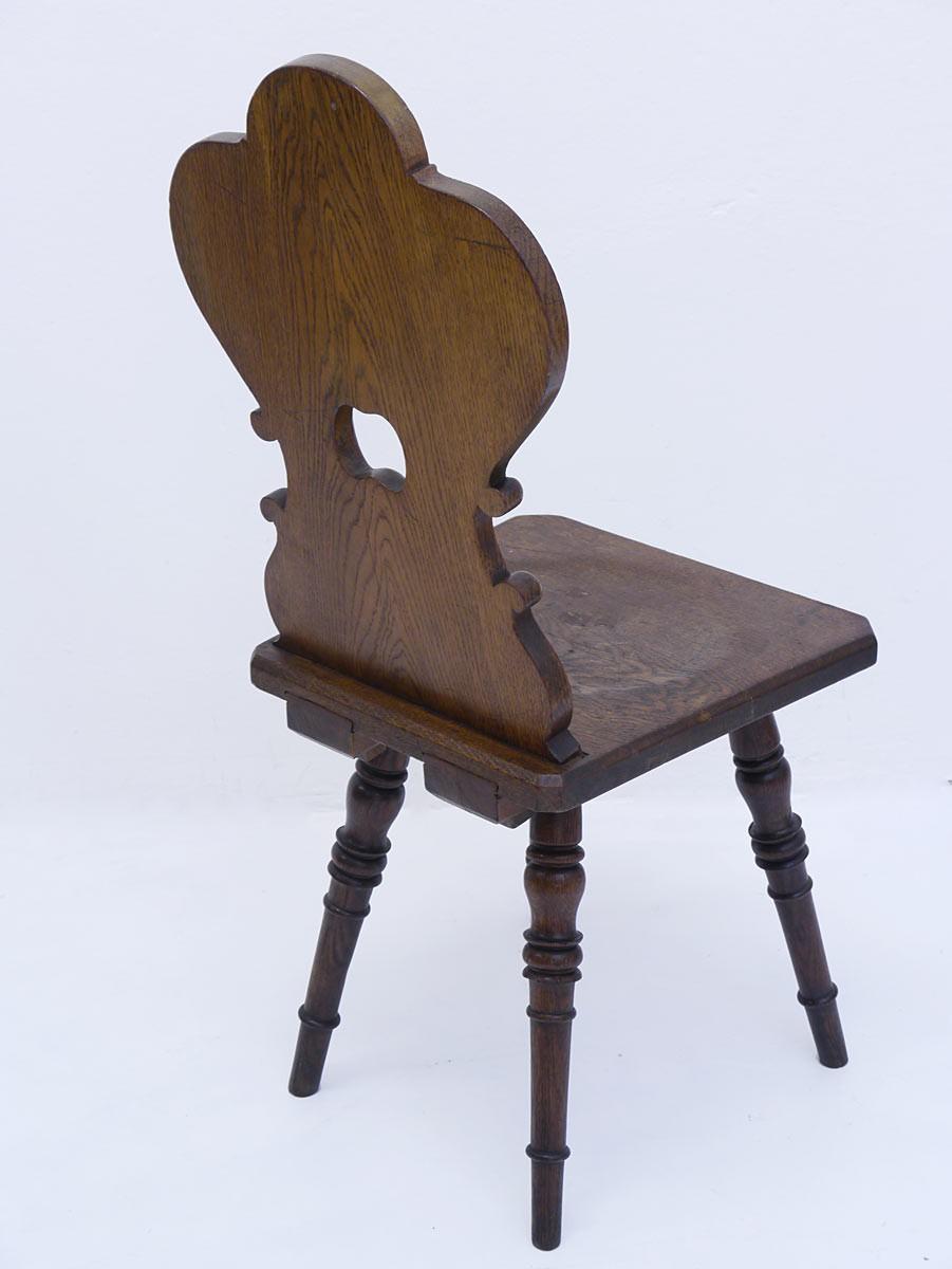 brettst hle fratzenst hle st hle um 1900 eiche massiv 3er set 3061 ebay. Black Bedroom Furniture Sets. Home Design Ideas