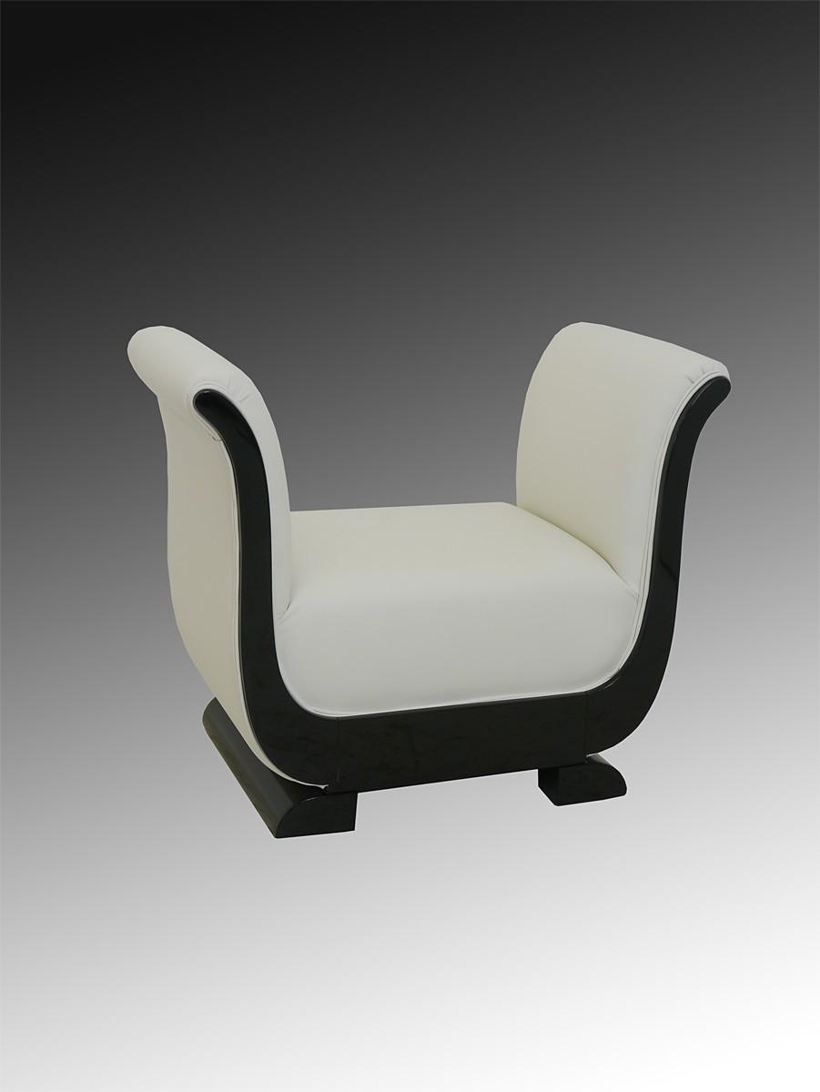 schminktisch frisiertisch coiffeuse hocker art deco schwarz hochgl nzend 3097 ebay. Black Bedroom Furniture Sets. Home Design Ideas