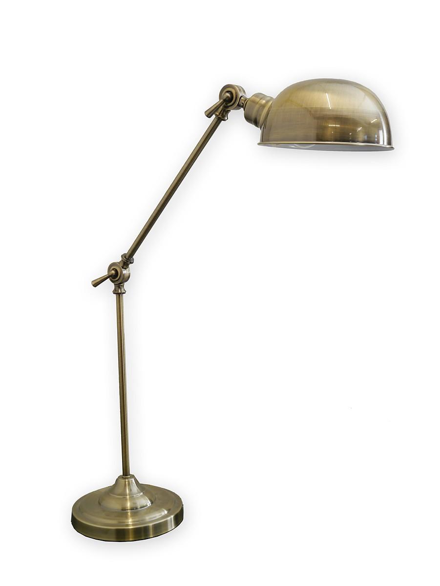 geschmackvolle schreibtischleuchte aus messing lampen. Black Bedroom Furniture Sets. Home Design Ideas
