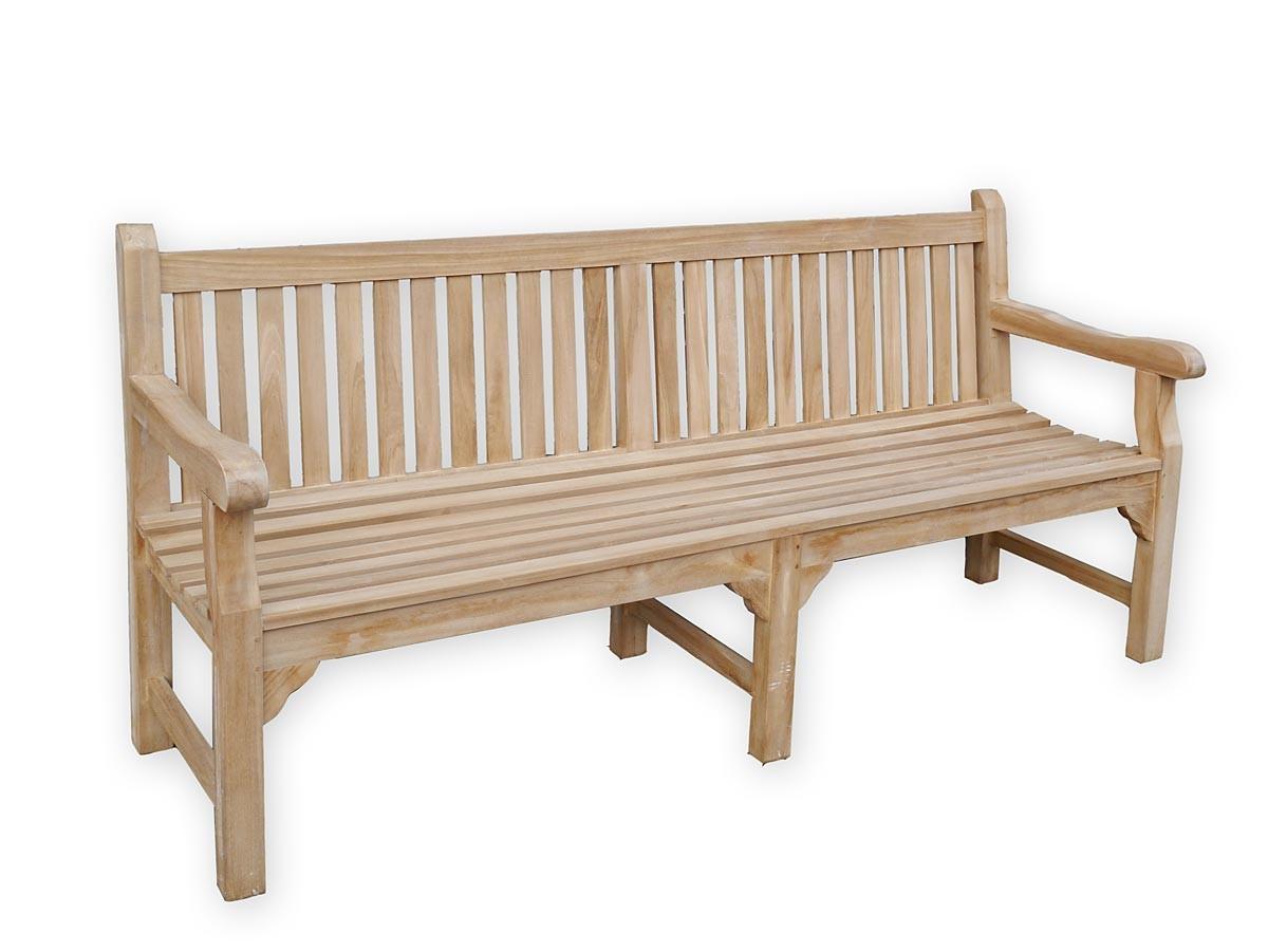 gartenbank 4 sitzer aus feinem teakholz sitzm bel b nke. Black Bedroom Furniture Sets. Home Design Ideas