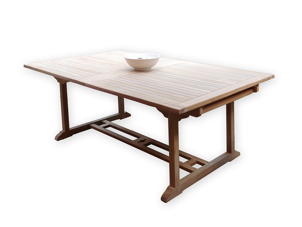Gartenmobel Edelstahl Larche :  Gartenmöbel aus massivem Teakholz ausziehbar 200 cm (3653)  eBay