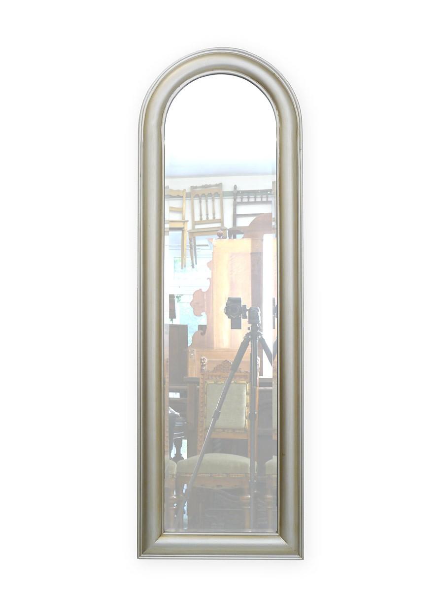 wandspiegel im antik stil silberfarbig 133x43x3cm spiegel wandspiegel. Black Bedroom Furniture Sets. Home Design Ideas
