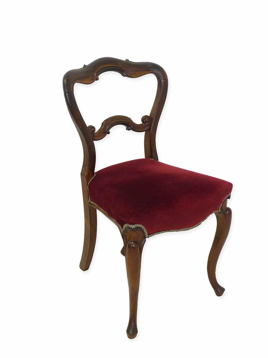 stuhl lehnstuhl sitzm bel louis philippe um 1870 mahagoni. Black Bedroom Furniture Sets. Home Design Ideas