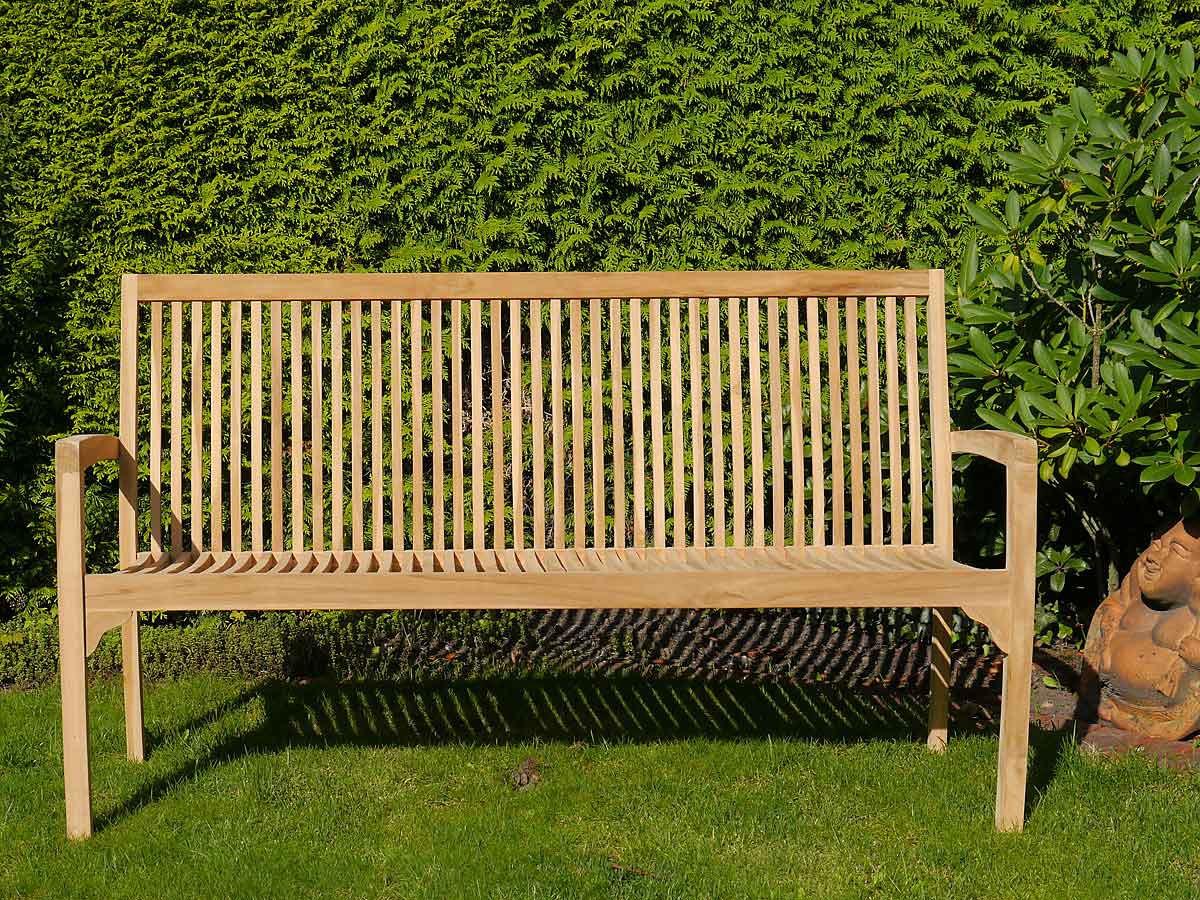Sitzbank 3Sitzer Gartenmöbel aus Teakholz unbehandelt (3866)  eBay