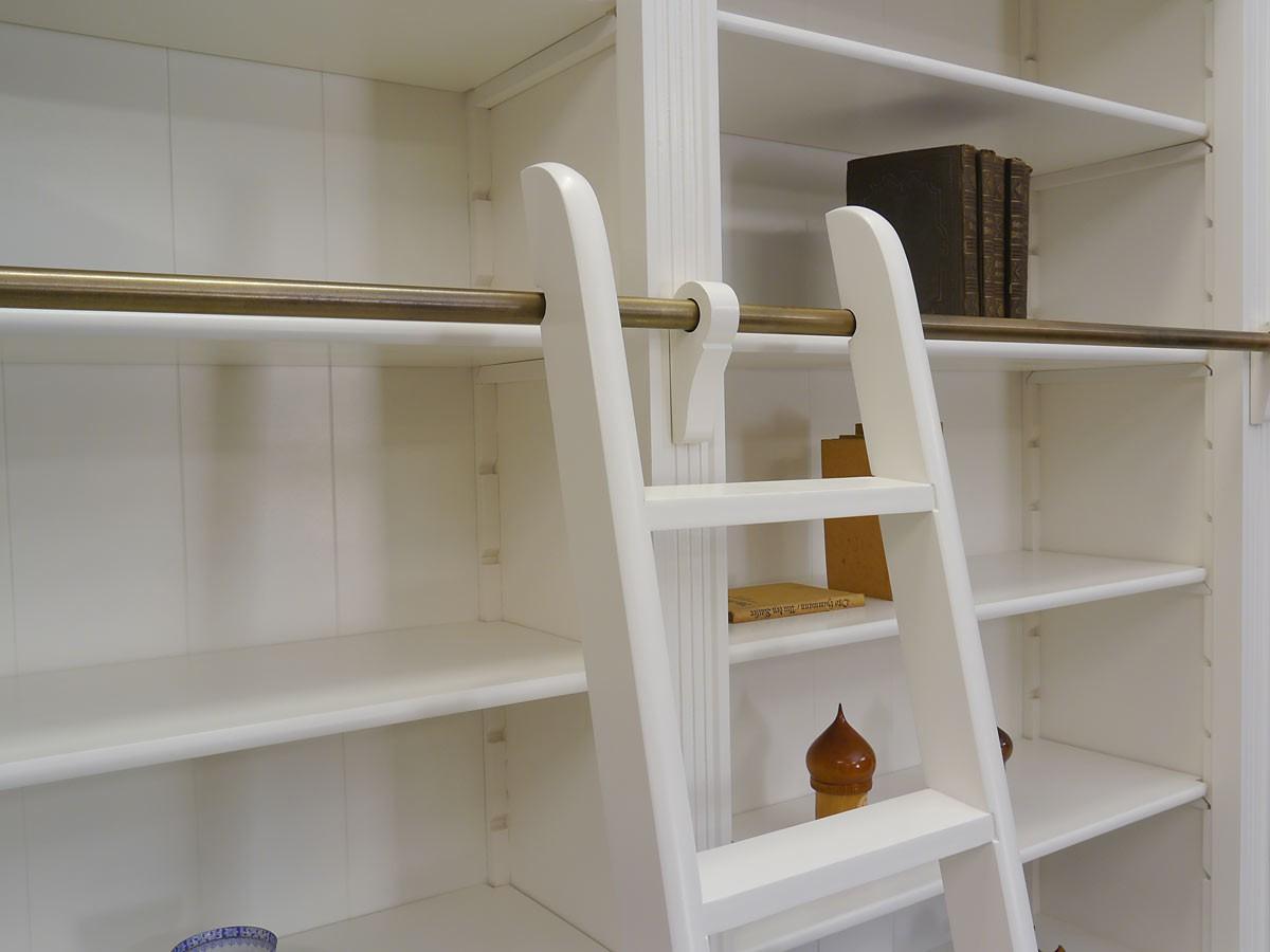 wei es gigantisches b cherregal weichholz massiv regale. Black Bedroom Furniture Sets. Home Design Ideas
