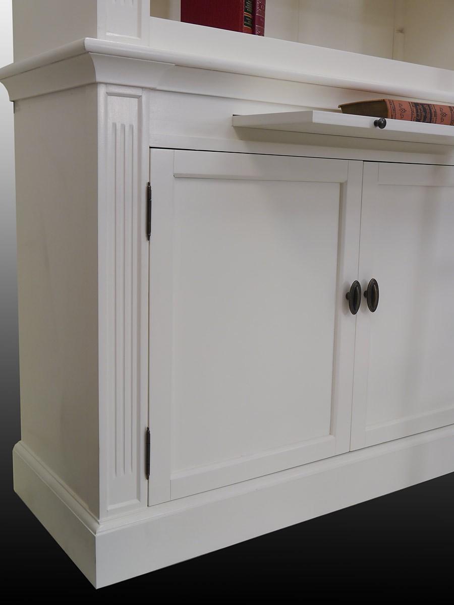 regal b cherregal regalwand weichholz massiv wei im antik. Black Bedroom Furniture Sets. Home Design Ideas
