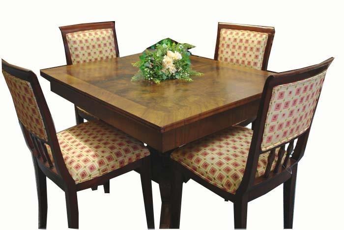 Esstisch Nußbaum Spätbiedermeier ausziehbar bis 3,30m Tisch (412)  eBay