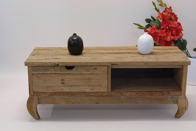 lowboard tv schrank m bel sideboard teakholz teak natur kommoden und anrichten sideboards anrichten. Black Bedroom Furniture Sets. Home Design Ideas