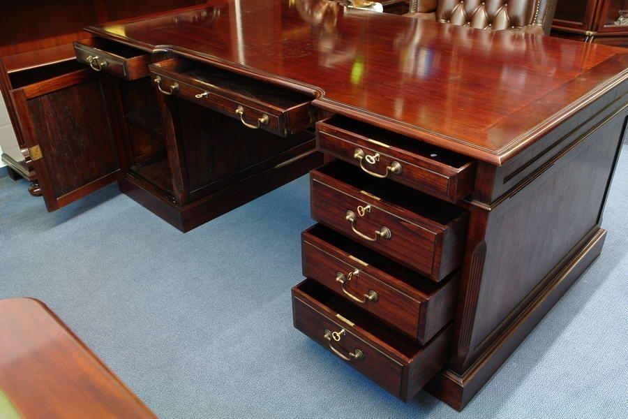schreibtisch partnerdesk mahagoni classic regale regalsysteme globe wernicke regalsystem. Black Bedroom Furniture Sets. Home Design Ideas