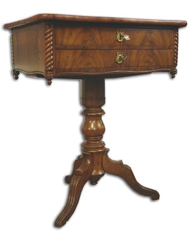 n htisch nu baum beistelltisch antik 535 ebay. Black Bedroom Furniture Sets. Home Design Ideas