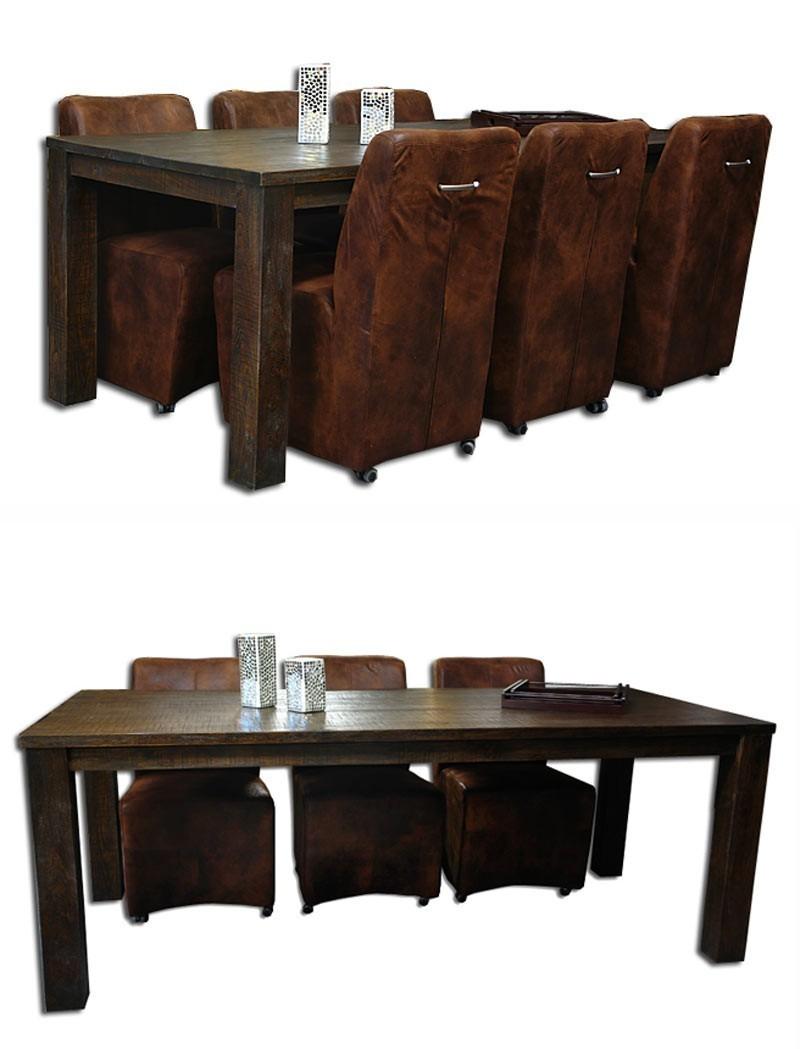 esstisch tisch teak teaktisch 2m kolonial mediterran. Black Bedroom Furniture Sets. Home Design Ideas
