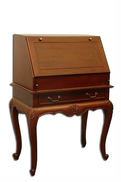 sekret r schreibtisch massivholz antik stil 630 ebay. Black Bedroom Furniture Sets. Home Design Ideas